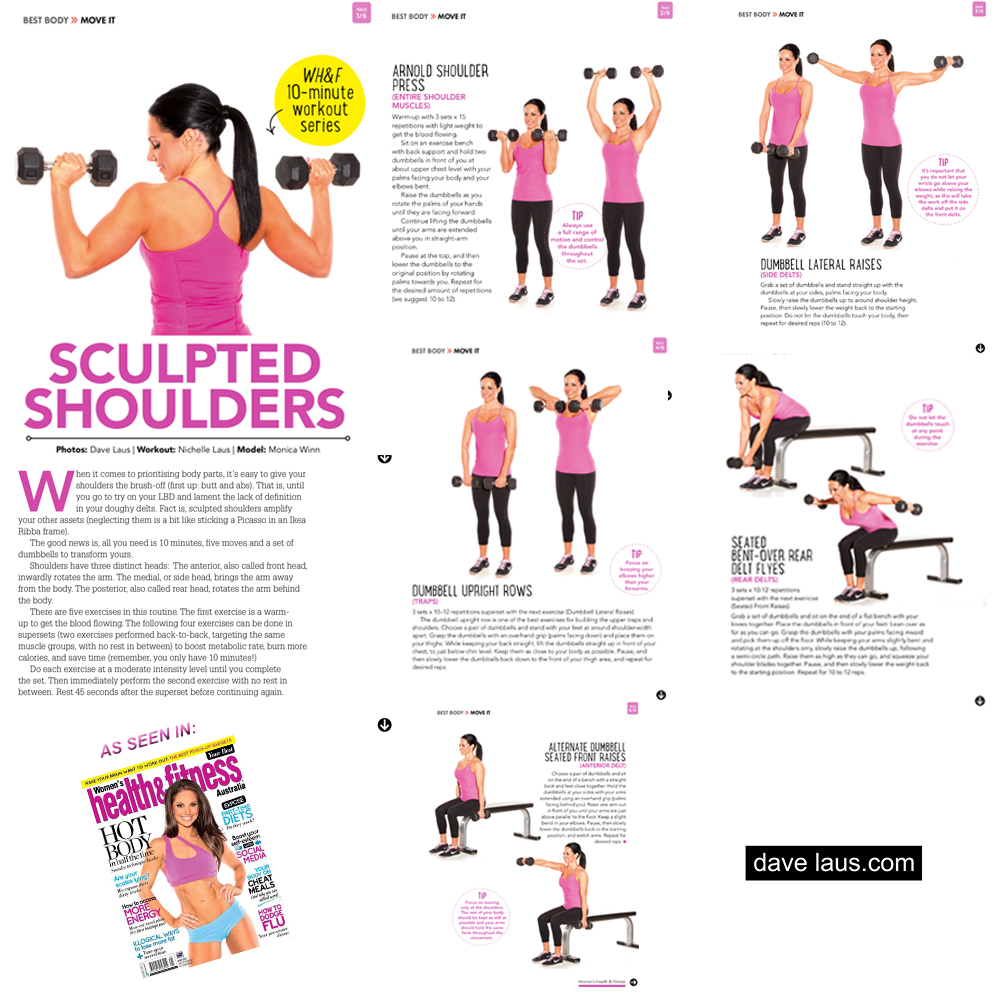 Womens Health & Fitness - Monica Winn