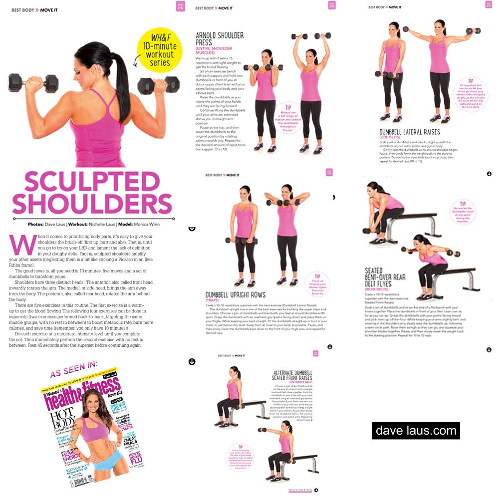 shoulder workout at home pdf