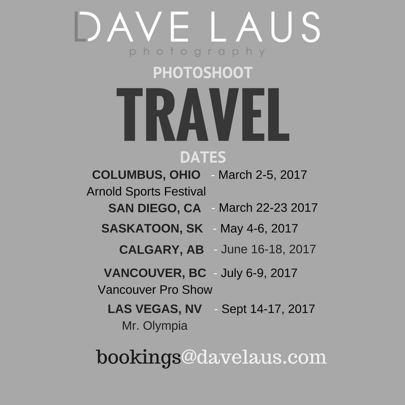 2017 Travel Schedule