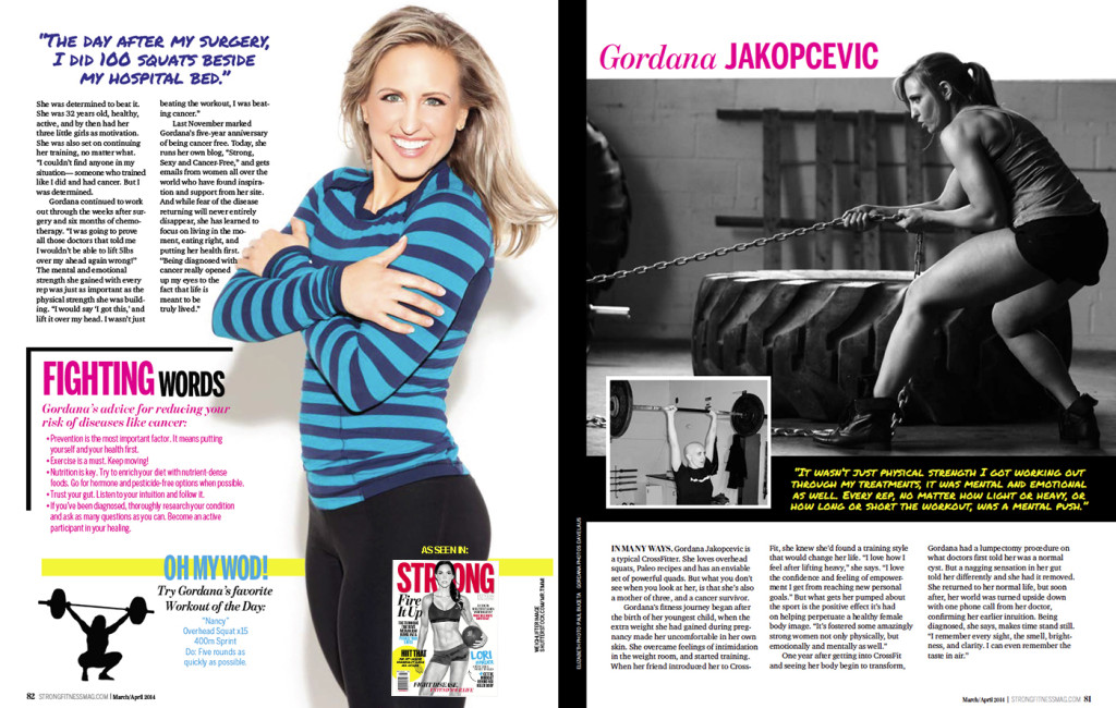 Gordana Jakopcevic -Strong